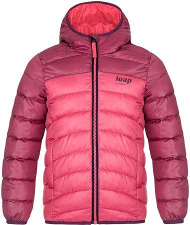Loap Inbelo lány téli kabát, 140, rózsaszín