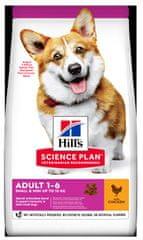 Hill's Science Plan Canine Puppy Small & Mini Chicken hrana , za štenad, 3 kg