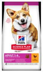 Hill's Science Plan Canine Puppy Small & Mini Chicken hrana , za štenad, 6 kg
