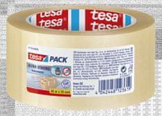 Tesa tesa®Balicí páska ULTRA STRONG, PVC, přír.kaučuk, nehlučná, průhled., 66m:50mm