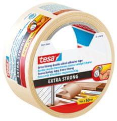 Tesa Mimoriadne silná podlahová páska tesa® Extra Strong, obojstranná kobercová páska, aj pre podlahové vykurovanie, 10m:50mm