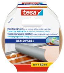 Tesa Odstrániteľná podlahová páska tesa®, páska na koberce - na pripevnenie kobercov a PVC krytín, 10m x 50mm