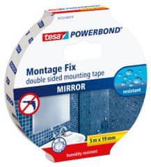 Tesa Páska na montáž zrkadla tesa® Powerbond MIRROR, obojstranná, odolná voči vlhkosti, 5m:19mm