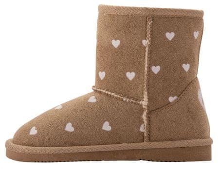 Coqui Čizme za djevojčice Lt. Brown Hearts 173/-906-9300, 34, smeđe