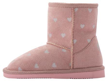 Coqui čizme za djevojčice Powder Pink Hearts 172/-906-6200, 27, ružičaste