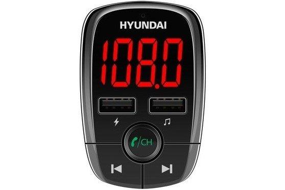 hyundai fmt380btcharge fm transmitter usb töltés usb lejátszás Bluetooth 5.0 háttérvilágítással ellátott led kijelző microSD slot kompakt kialakítás, könnyű telepítés