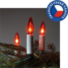 Exihand Súprava Felicia červená SV-16, 16 žiaroviek 14V / 0,1A
