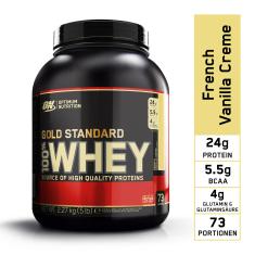 Optimum nutrition Optimum Protein Příchuť Francouzský Vanilkový Krém - 2270 g