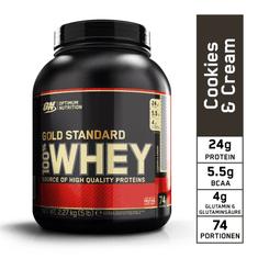 Optimum nutrition Optimum Protein Příchuť Cookies & Cream - 2270 g