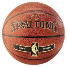 Spalding NBA košarkarska žoga, št. 7, Gold