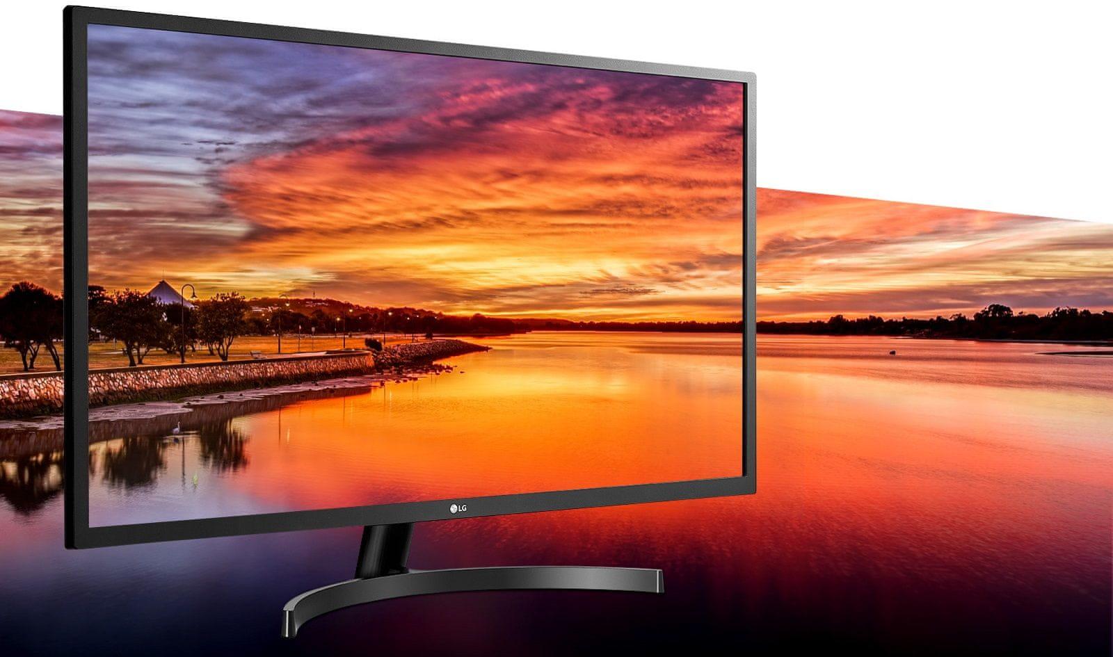 monitor  LG 32MN500M (32MN500M-B.AEU) wysoka rozdzielczość prawdziwe kolory krótki czas odpowiedzi