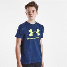 Under Armour sportska majica s logom, dječja, tamnoplava