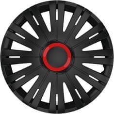 """Versaco Puklice Active RR čierna 15"""" 4ks"""