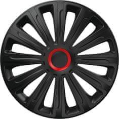 """Versaco Puklice Trend RR čierna 14"""" 4ks"""