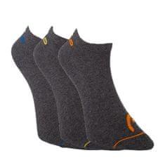 Head 3PACK ponožky šedé (761010001 002)