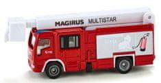 SIKU Super 174 Magirus Multistar vatrogasci s teleskopskom košarom
