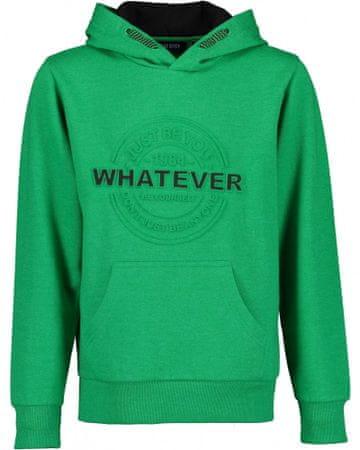 Blue Seven fantovski pulover, zelen, 164