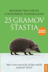 Nakladatelství Kazda M. Vacchetta, A. Tomaselli: 25 gramov šťastia, slovensky