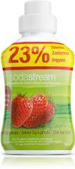 SodaStream Príchuť 750ml Zelený čaj jahoda