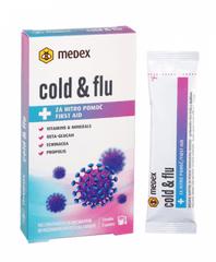 Medex Cold&flu instant napitek, 3 x 10 g
