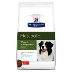 Hill's PD Canine Metabolic dijetna hrana za pse, 4 kg
