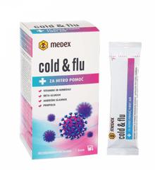 Medex Cold&flu instant napitek, 10 x 10 g