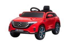Beneo Elektrické autíčko Mercedes-Benz EQC, 12V, 2,4 GHz dálkové ovládání, USB / SD Vstup, odpružení, 12V