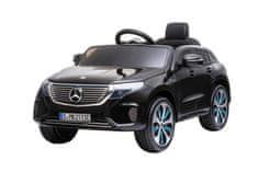 Beneo Elektrické autíčko Mercedes-Benz EQC, 12V, 2,4 GHz dialkové ovládanie, USB/SD Vstup, odpruženie