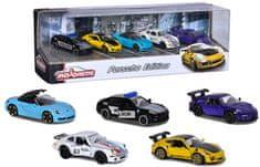 Majorette Porsche Ajándék készlet 5 ks