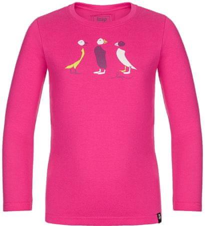Loap Bella majica za djevojčice, ružičasta, 116