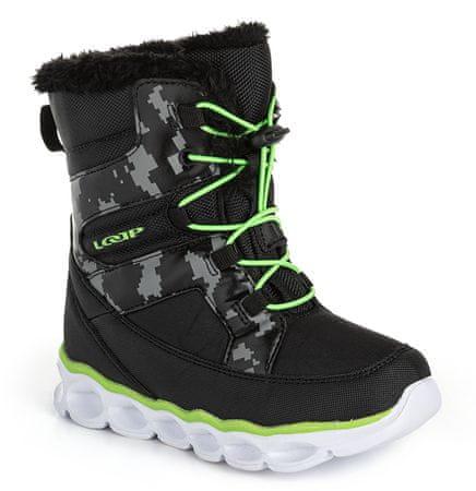 Loap Emina dječje zimske cipele, crne, 30