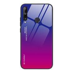 MG Gradient Glass műanyag tok Huawei P40 Lite E, rózsaszín/lila