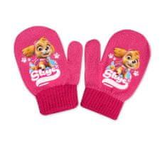 SETINO Dívčí rukavice - Paw Patrol - růžová - 10x13 cm