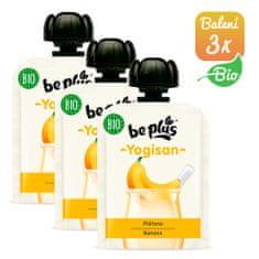 BePlus 3x BIO kapsička banán a jogurt 90g