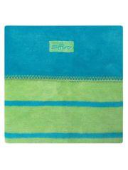 Womar Dětská bavlněná deka Womar 75x100 modro-zelená
