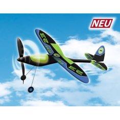 Günther APEX letadlo na gumu s ocelovou konstrukcí křdel, 49x50 cm