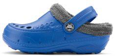 Coqui dětské pantofle Husky Sea Blue/Mid. Grey