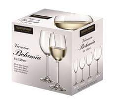 MAISON FORINE set 6 ks sklenic Veronica na bílé víno 350 ml
