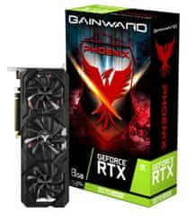 Gainward GeForce RTX 2070 SUPER Phoenix V1 grafička kartica, 8 GB GDDR6, HDMI, DisplayPort