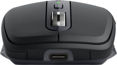 profesionalni miš Logitech MX Anywhere 3, grafit (910-005988) Darkfield 4.000 DPI laserski skener