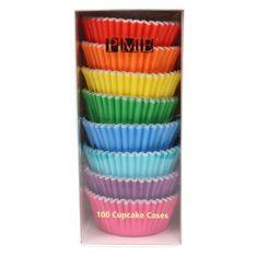PME 100ks barevných košíčků na muffiny