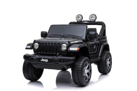 Beneo Elektromos kis autó JEEP Wrangler, Két ülés, Bőrülés, Rádió Bluetooth lejátszóval, SD/USB, 4x4