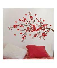 Crearreda WA L Red Ramage 58105 Větev s červenými květy
