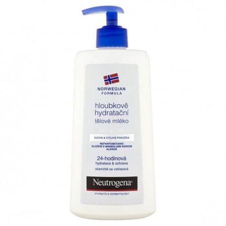 Neutrogena hidratantno mlijeko za tijelo za osjetljivu kožu 24 H, 400 ml