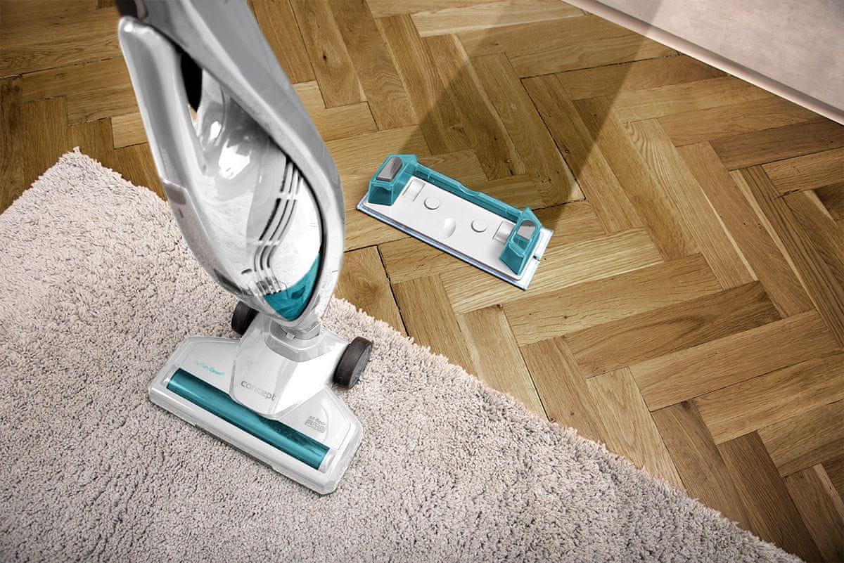 Bezkabelový vysavač Concept VP4205 Wet and Dry 3 v 1 PERFECT CLEAN 3 v 1