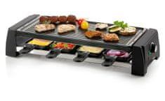 Domo Raclette gril pro 8 osob - 2v1 - DOMO DO9189G