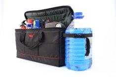 Sotra Cestovní taška do kufru auta s držákem pro kanystr lahev