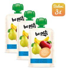 BePlus 3x Kapsička ovoce se sušenkou 100g