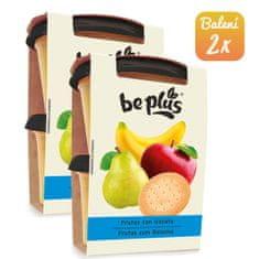 BePlus 2x Ovoce se sušenkou (2x200g)