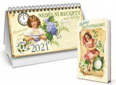 Klára Trnková: Kalendář 2021 - Nedělní recepty naší babičky + Babiččiny saláty a pomazánky